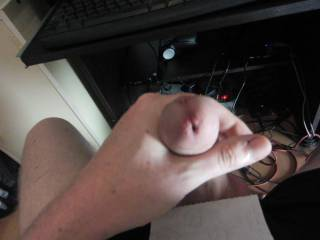 Good cum shot, and a very nice cock Mrs L