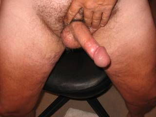 mmmmmmmm.......wish i was there finishing you off....I love sucking a ringed cock.......your cock is AWESOME man