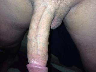 mmm slowly dip that big veiny cock in ans out of my mouth by the time hes done hed be covered in red lipstick cum and pulsating after busting everywhere