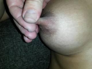 Like those hot nipple tugs, make her gasp and whimper