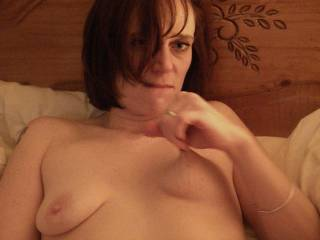 Oh yes...I would love to suckle your available titty and not stop until I made you cum... Mmmmmmmmm