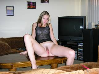 love to spread tose legs and pussy lips wide open bet you smell and taste so swet down there  woulnt I love to have your love honey running down my face