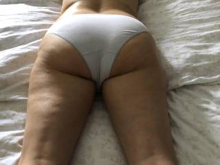 showing and teasing hubby