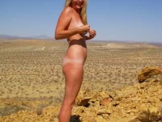 Outside naked is wonderful