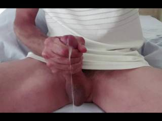 I love stroking my cock.  I love cum.  I love that I can share this hot load with you.