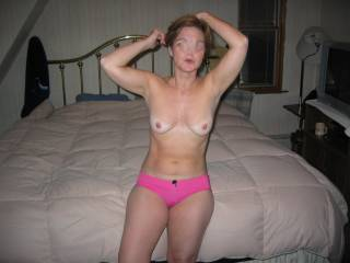 Gorgeous hot body soooooooooooo sexy in those wet pink panties!  Wait no more I am cumming to seduce for a long wild ride round the world into erotic sexual adventure, into amazing orgasic bliss and back again!