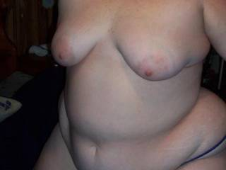 id love to suck on them big tits  and do more with that sexy body my cock is rock hard from looking at yr sexy pixs keep them coming