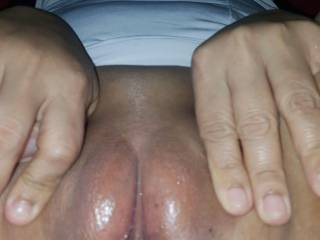 My shaven pussy