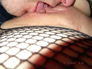 Love him eating my wet pussy and open ass. Anyone want to help out?