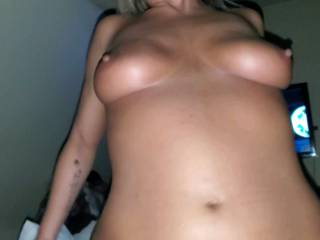 Such an amazing body on this slutty sex goddess!! We love to share her so let us know if you may wanna join in the more cocks we can get in her the better the pics will be!!