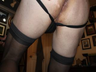 Do you like my stockings?  Or do you like other things in the picture more?