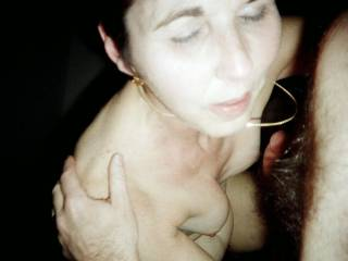 She was sucking my cock 10 seconds later