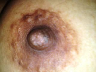 My wife's swollen areola sucked hard !!!!