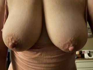 Hubby took while i was teasing him