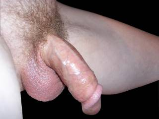 My cock after cumming
