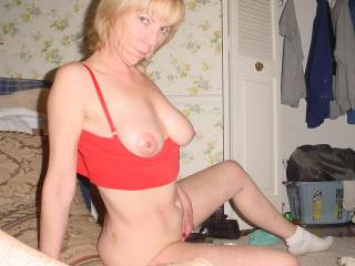 wish i was there to feel how horny you are, and show you how horny you make me!  :)
