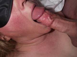 She likes to suck cock!! Would you like your\'s to be next?