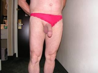 My slave in my panties