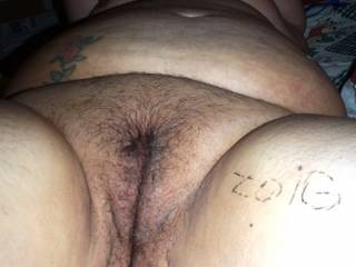 nice looking pussy. Now shave it for me I bet it looks even better.