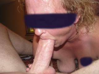 Did a no-hole-barred threesome with one of the sub sluts of an old friends. His huge cock stretched her pussy, ass, and mouth to the limit! It was so nice of him to share her!