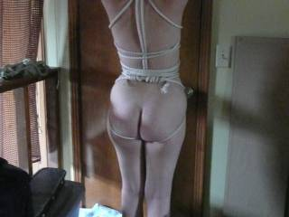 Thats one sexy looking ass! I hope you post a lots more