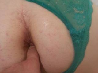 Getting my ass ready for pleasure