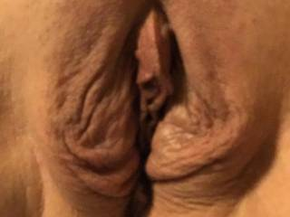 After being fucked a few times, Her lips were swollen from all the pounding they got.