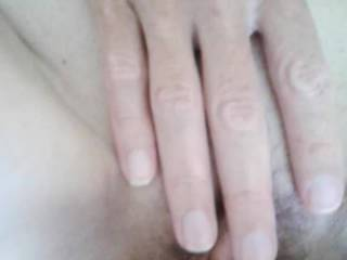 I just sat there and let my wife fuck my cock and play with her Pussy. It was great to watch her enjoy herself. Wouldn't mind watching her do this to another cock!