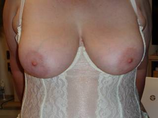 My wife knows i love her tits do you