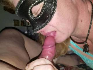 OMG I absolutely love sucking my hubbys dick until he fills my throat with his hot juicy cum...