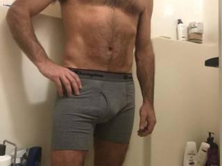 Me after shower!