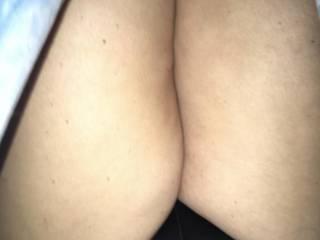 Her new silky panties....