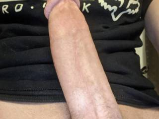 My rock hard cock for you to drool over and so u can finger fuck your cunt while you dream about this young meat