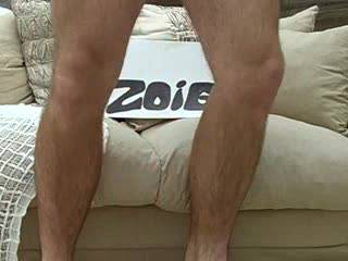 A video of me wanking in my conservatory for all to see over back garden fence