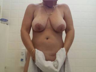 My sexy wife in the bathroom!