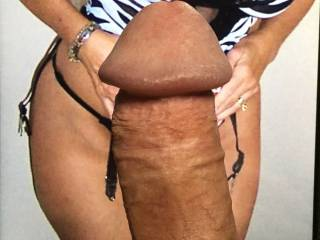 My hard cock for a friends beautiful body.