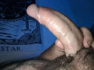 Who wants to come help me with a problem ?  I used to much lube and i can't hold on to it, who wants to suck al of that lube off this thick dick?