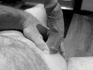 On your knees and sucking my cock is how i want you!!