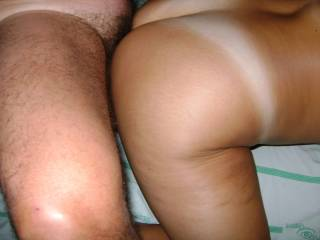 what a sexy ass!!!  love the tan lines.  I would love to cum all over that fucking hot ass!!