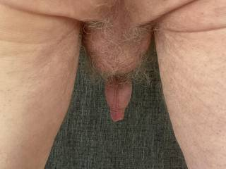 A view of 'Him' dangling from the rear.