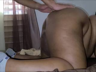 """pounding 4""""11 bbw from behind until she taps out"""