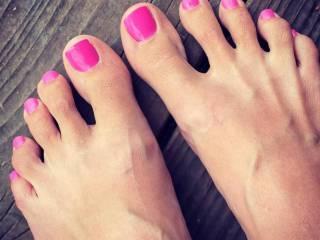 Girlfriends feet
