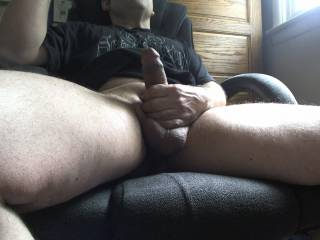 Love to sit on your cock....my pussy is getting wet just thinking about it;)
