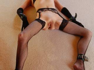 I'd love to see princess licking your pussy, it would make such a horny sight and I know I'd be very much turned on - Fab pic .... Devil xx