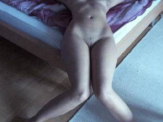 mmmmmmmmmmmmmmm i want spread slow your legs and put my face between start to lick your legs and finish to your sweet pussy and clit