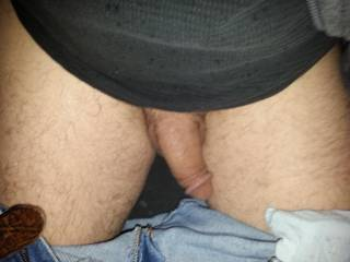 My mouth would keep your cock moist and hard the whole ride.