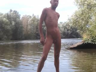 This is me full nude outdoors