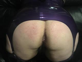 My sexy new latex outfit make me so wet I just want to get fuck so hard  Is there anyone out there that can fuck me hard ?