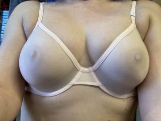 My gal\'s gorgeous tits on display........ want to suck on them or blast them with cum???