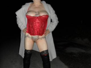 hi all hubby took me to work with him today we managed some pictures and shot a few on the way home as well dirty comments welcome mature couple